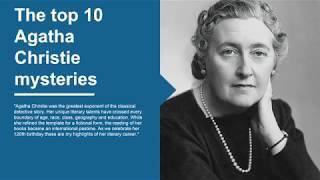 best agatha christie books | The top 10 Agatha Christie mysteries