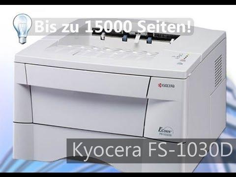 Günstiger Studentendrucker - Kyocera FS-1030D