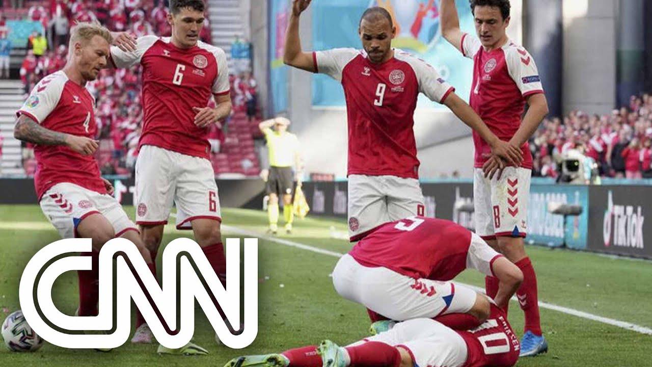 Cardiologista ensina como socorrer alguém com síncope, como jogador da Dinamarca | CNN SÁBADO