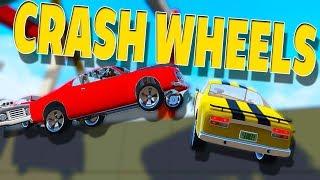 AWESOME CAR CRASH PHYSICS! - Crash Wheels Crashes and Gameplay