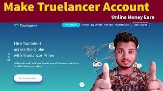 Hintçe Truelancer Tam Öğretici - Hesap Oluştur, kurmak, Teklif Gönderme, Para Çekme, Yarışma