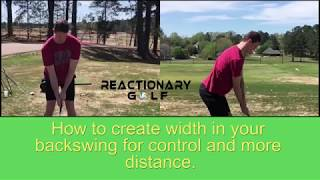 How to Create Width for better Control & more Distance!
