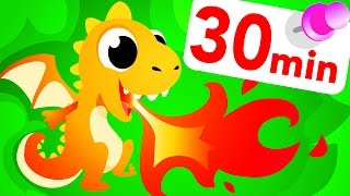Where Are The Baby Dragon Eggs? Learning & Counting Colours - Cute & Funny  by Little Angel