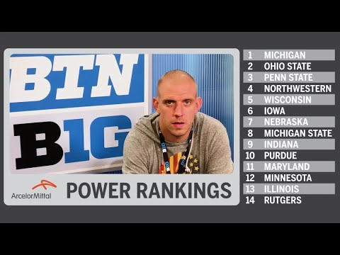 B1G Power Rankings – Post-Week 12 | Big Ten Football
