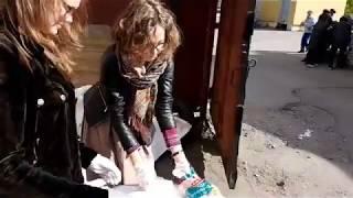 Кормление бездомных 28 мая 2017 Первая онлайн трансляция