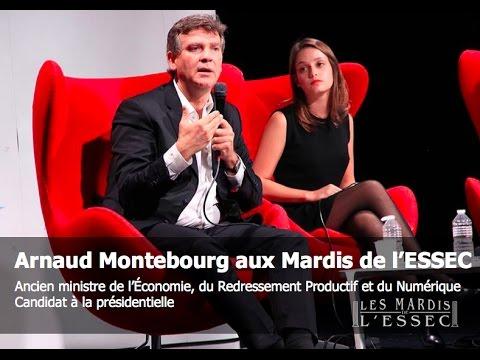 Arnaud Montebourg aux Mardis de l'ESSEC