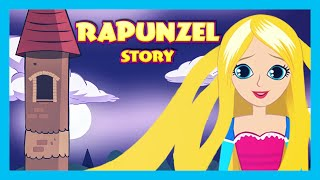 RAPUNZEL English Kids Story Animation | Fairy Tales and Bedtime Stories - Full Story thumbnail