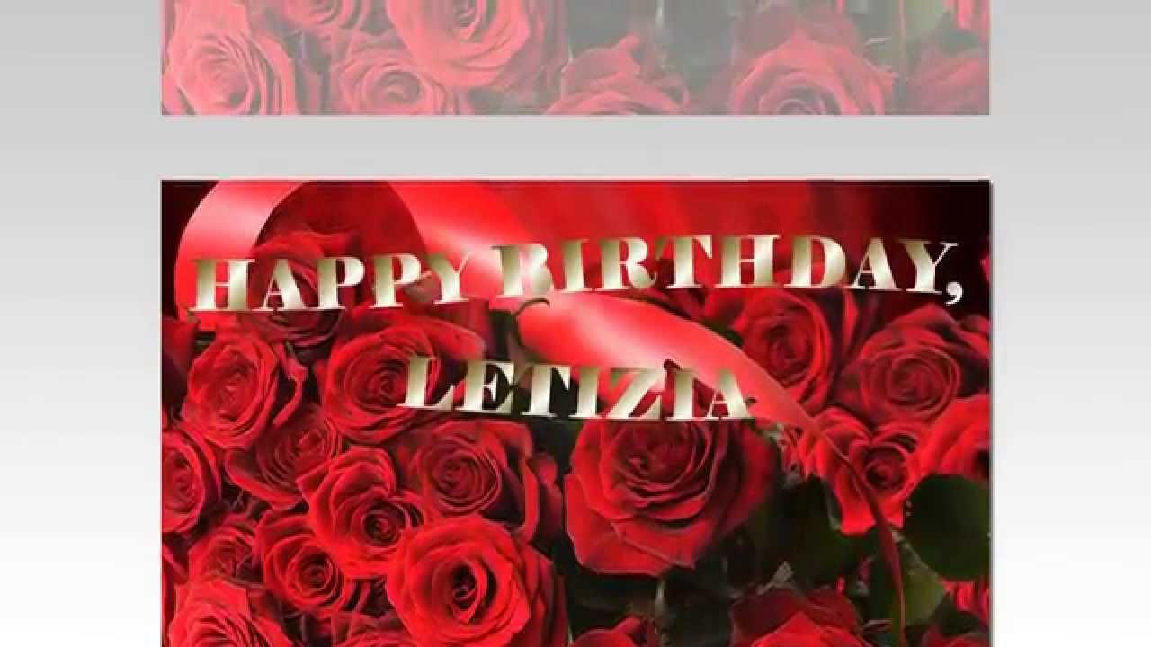 Image result for Happy Birthday Letizia