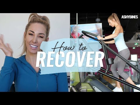 HOW TO recover FAST! ANYONE who trains MUST WATCH! My best tips to recovery! - 동영상