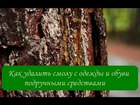 Как удалить смолу с одежды и обуви подручными средствами/ Сама Я mk
