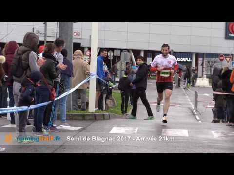 Arrivée 21km - Semi Blagnac 2017
