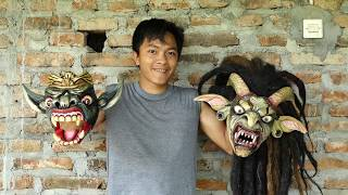 KERAJINAN TOPENG KAYU - UDIN TOPENG - Kalibawang, Kulon Progo