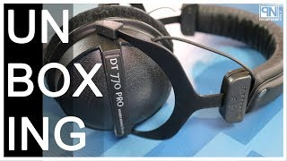 beyerdynamic DT 770 Pro 80 Ohm Limited Edition Black Headphones - Unboxing and Review - Poc Network
