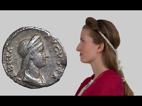 "The ""Juno"" hairstyle of Empress Sabina"