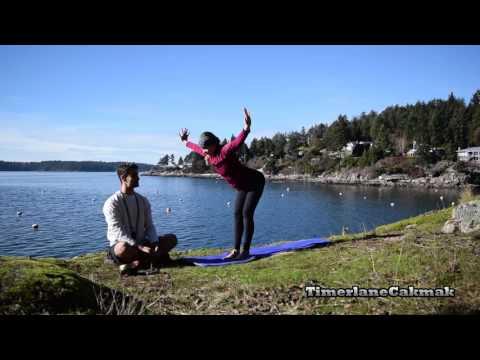 60 Minutes Holistic Yoga -  Bowen Island Febuary 2017 -  Timerlane and Mikaela