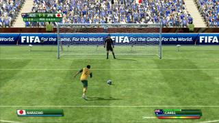 2010 FIFA World CUP Penalty Shootout / Penales