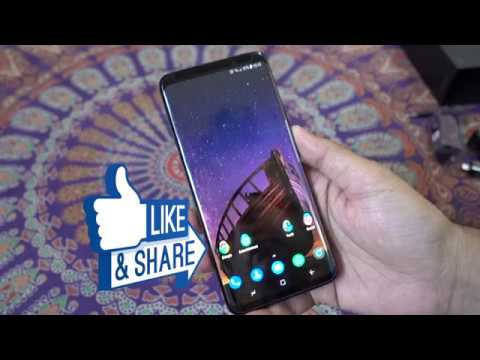 Samsung Galaxy S9 Plus (S9+) Dual Sim 256GB Detailed Unboxing
