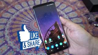 Samsung Galaxy S9 Plus (S9+) Dual Sim 256GB Detailed Unboxing