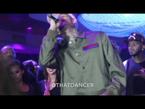 Chris Brown Take U Down  at Cafe Iguanas 2016
