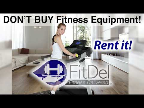 How To Rent Fitness Equipment