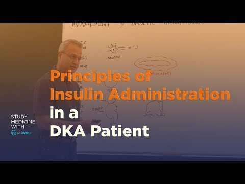 Principles Of Insulin Administration In A Diabetic Ketoacidosis Patient