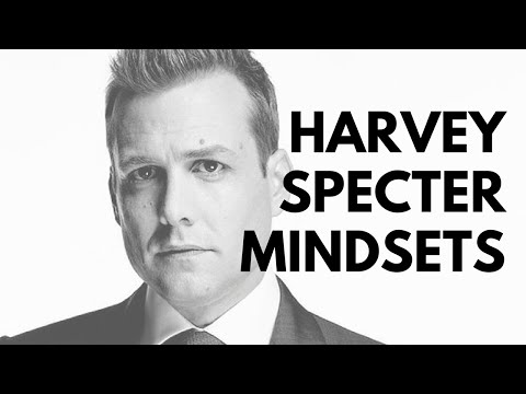 HARVEY SPECTER MINDSETS
