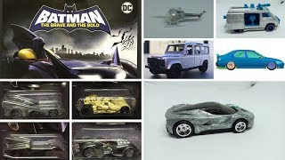 2018 Hot Wheels Punisher Van prototype, New Batman Set and more News.