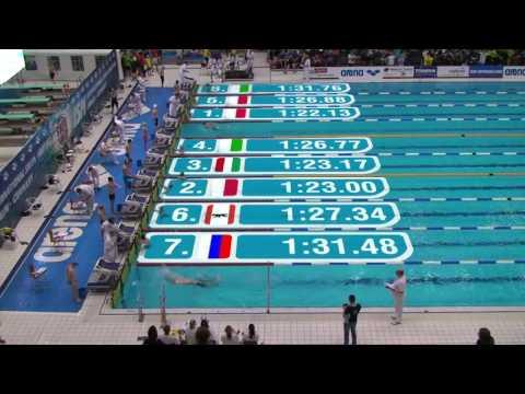 International Swim Meeting 2015 (Berlin) - WK 16 100m Schmetterling Männer Vorlauf