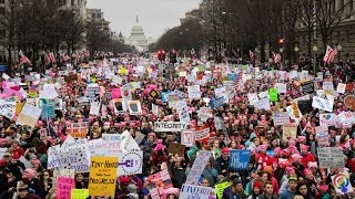 Women's March on Washington: Historic Protest Three Times Larger Than Trump's Inaugural Crowd