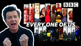 Смотреть клип Rick Astley Ft. The Unsung Heroes - Every One Of Us