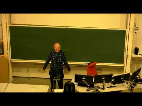 Donald Knuth at Luleå University of Technology
