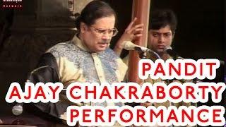 Pt Ajay Chakraborty Live Performance @ Pandit Bhimsen Joshi Music Festival