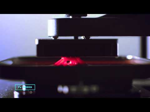 Carbon3D CLIP technology demo 7X speed