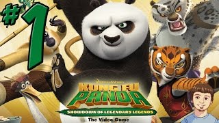Kung Fu Panda: Showdown of Legendary Legends Walkthrough - PART 1 - Character List + Po Gameplay!