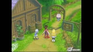 Tales of Symphonia GameCube Gameplay - Monster Time