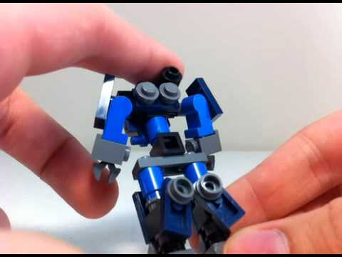 how to build a lego transformer motorcycle mini