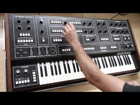 New Coffee Cups Synth Demos Updates >> Elka Synthex Demo Rare Vintage Analog Synthesizer Synth Youtube
