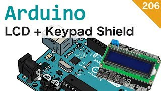 LCD KeyPad Shield per Arduino - #206