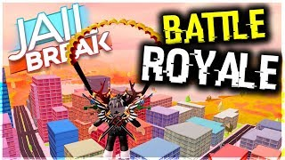 ROBLOX JAILBREAK GLITCH| HOW TO WIN BATTLE ROYALE IN JAILBREAK EVERY TIME! (MUST WATCH)