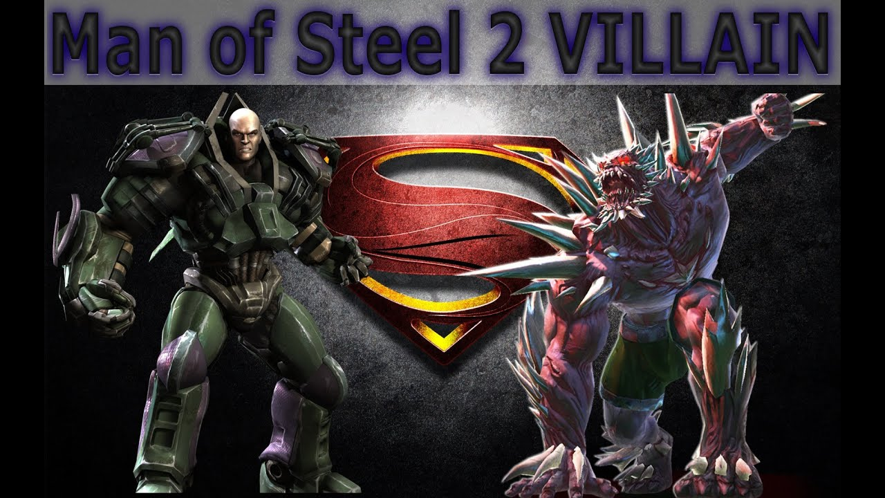 Man of Steel 2 - Villain (Lex Luthor, Doomsday, Brainiac ...