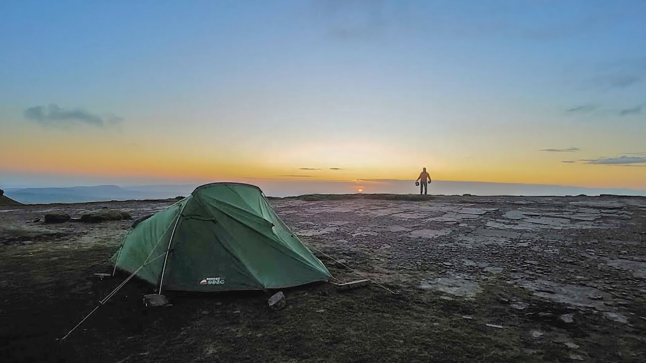 Travel Photography | Wild Camping in Brecon Beacons - YouTube