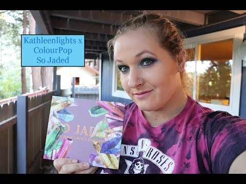 Kathleen Lights x ColourPop SO JADED palette! |Whitney Mack thumbnail