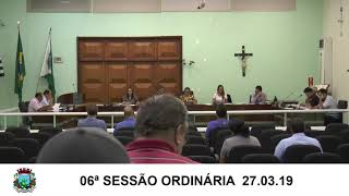 Sessão da Câmara  27.03.19