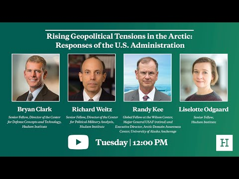Rising Geopolitical Tensions in the Arctic: Responses of the U.S. Administration
