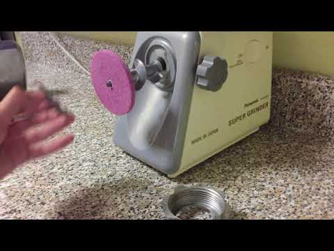 Meat Grinding Knife Sharpening Tutorial