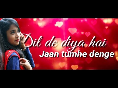 dil-de-dia-hai-jan-tumhe-denge-|-hindi-song-|-cover-by-sanjana-shahariyar-tanha-|-music-diary