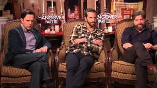 『ハングオーバー!!! 最後の反省会』インタビュー映像(ブラッドリー・クーパー、エド・ヘルムズ、ザック・ガリフィアナキス)