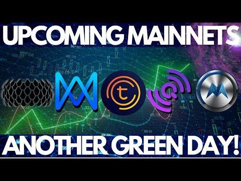 Morpheus Network, QuarkChain And Qlink Mainnet Launches! Tomochain, Sirin Labs Finney,
