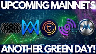 Morpheus Network, QuarkChain and Qlink Mainnet Launches! Tomochain, Sirin Labs Finney,
