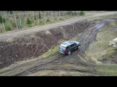 Land Rover Discovery 5 offroad test drive